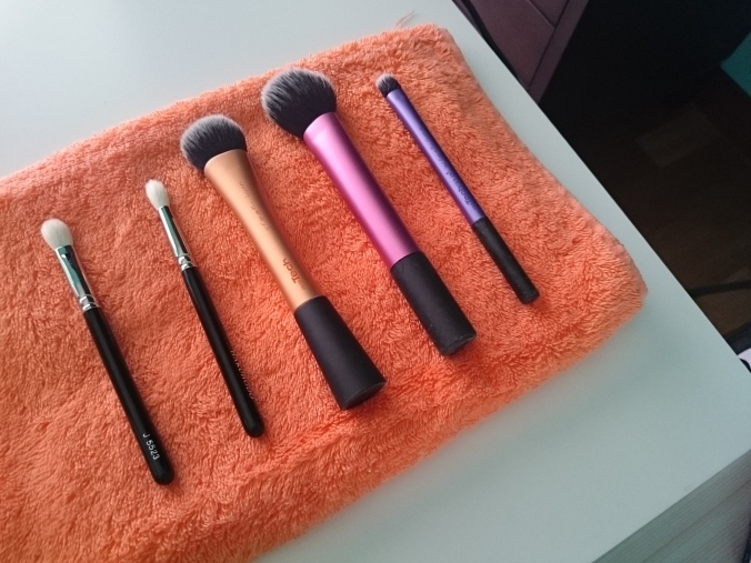 The brush cleaning day